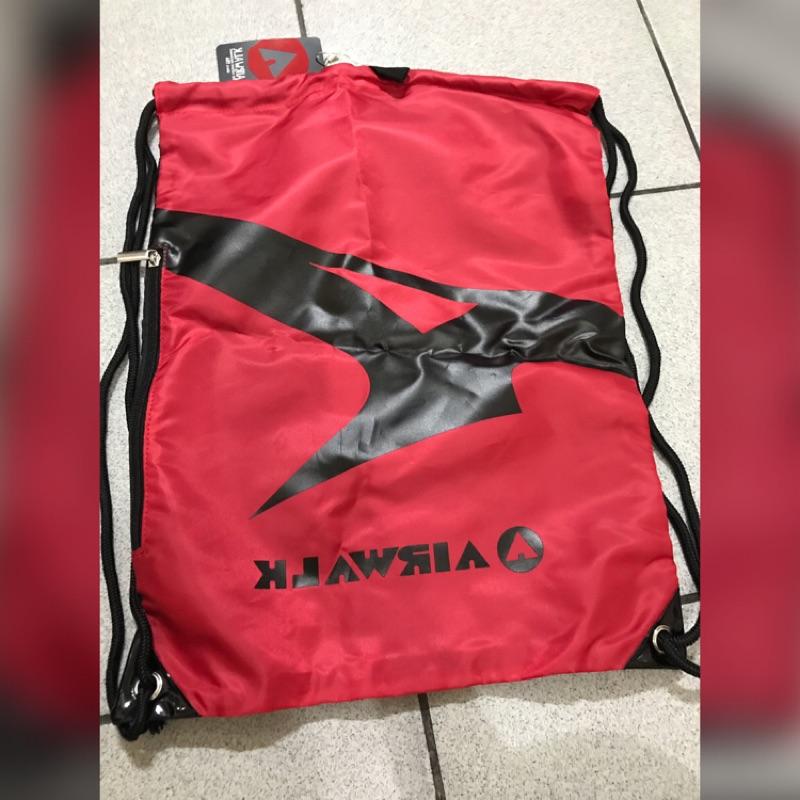 全新出清-AIRWALK 束口後背包兩面可帶 束口袋 吊牌未撕 運動背包
