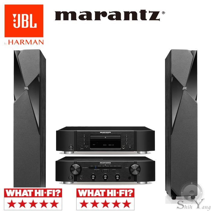 Marantz CD6007 CD播放機 + PM6007 綜合擴大機+ JBL STUDIO 180 落地喇叭 公司貨