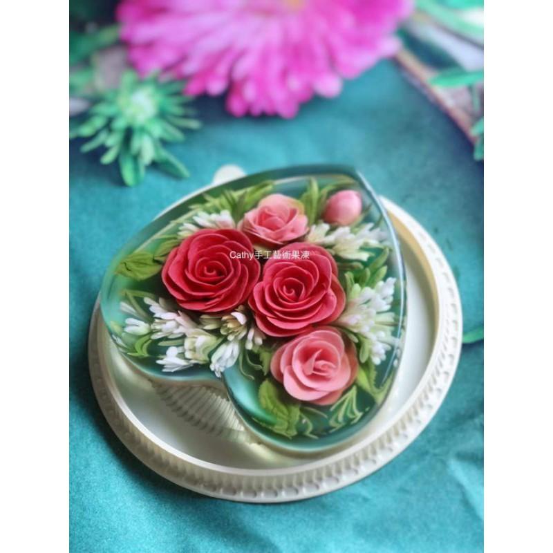 8吋果凍花蛋糕,10吋果凍花