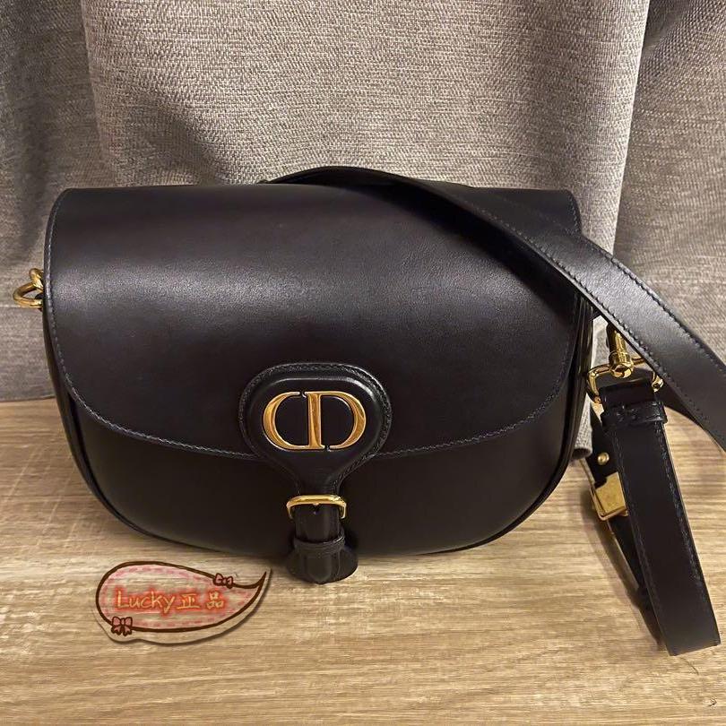 ✨Lucky✨正品代購 Dior Bobby 中號 肩背包 斜背包 黑色 M9319