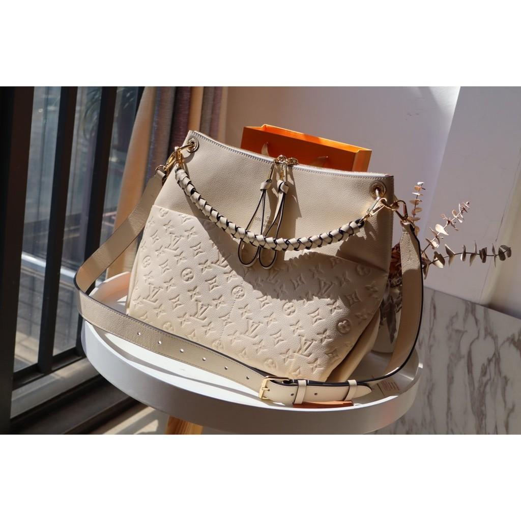 LV最新款編織手提袋水桶包Melie手袋斜背包