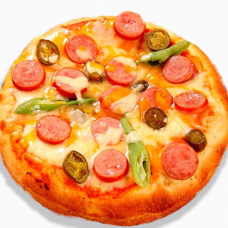 瑪莉屋口袋比薩pizza【墨西哥辣腸批薩】薄皮/一入