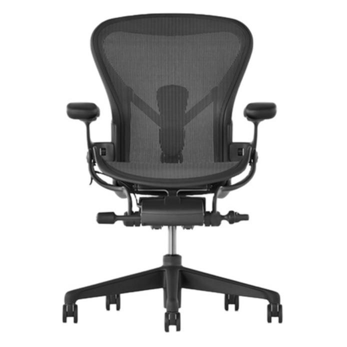 Herman Miller Aeron 2.0 全功能 - A Size (二手, 九成新, 含挺拔頭枕2.0)