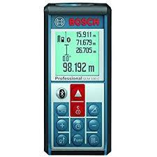 《新莊自己人五金》BOSCH GLM 100C 手持式 雷射測距儀 藍芽 傳輸
