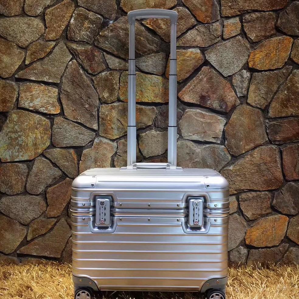 rimowa日默瓦航空箱機長箱攝影箱 鋁合金鋁鎂合金箱 登機箱 高端商務箱 拉桿箱
