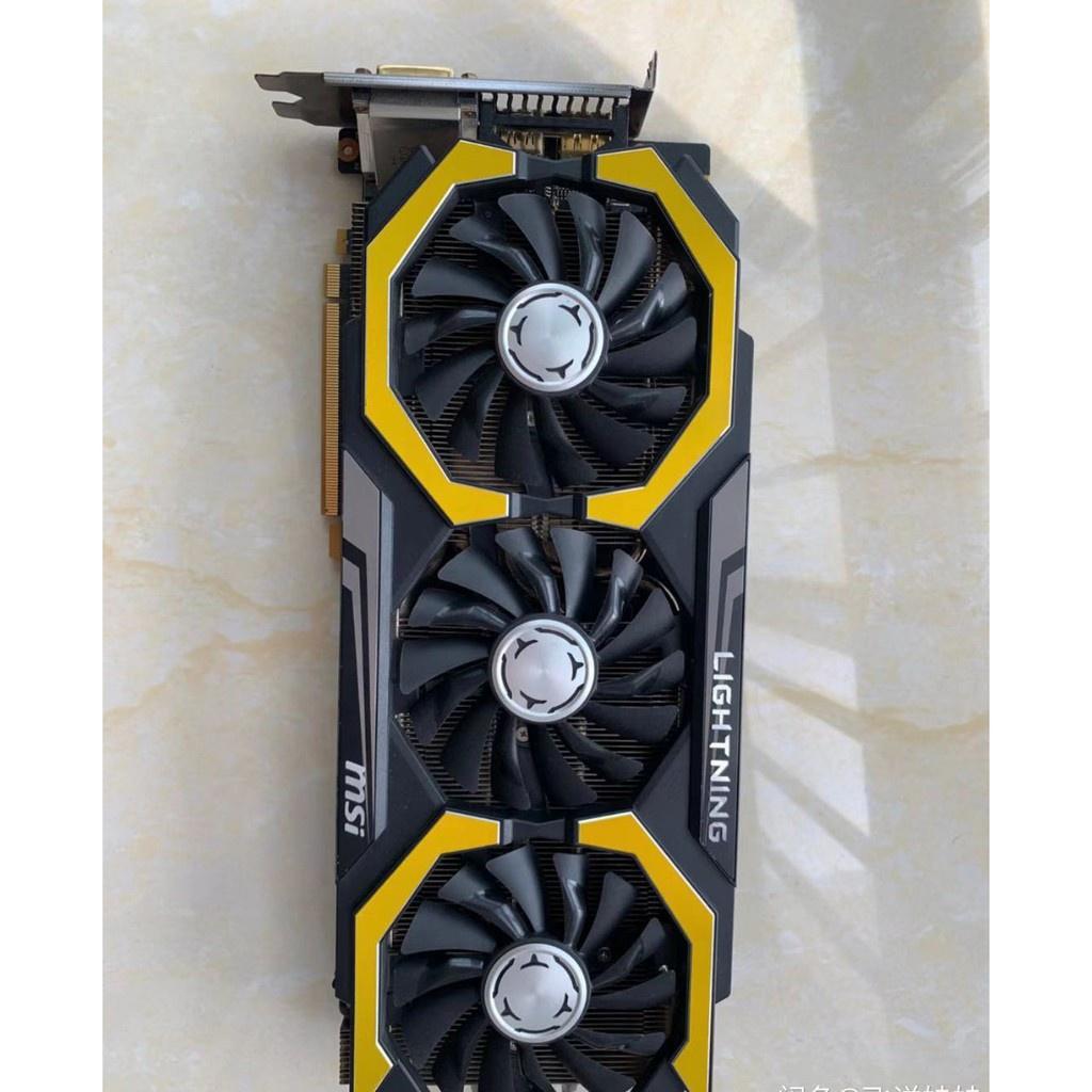 Nvidia 圖形 -MSI lightning gtx980ti 6g