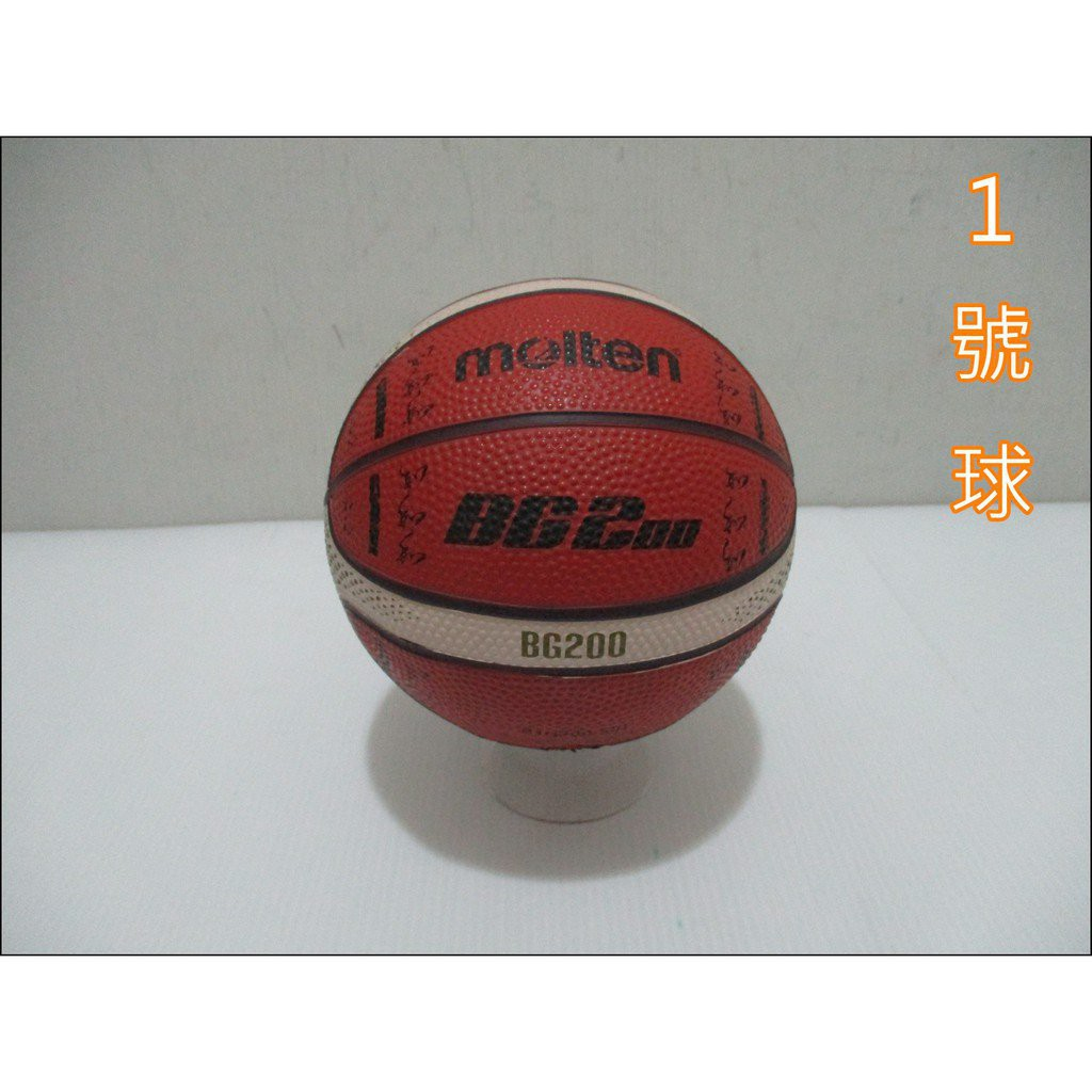✨玩偶公仔大賣場✨Molten 12片橡膠深溝籃球 2020奧運紀念球款 深橘 1號球 BG200 0lfz