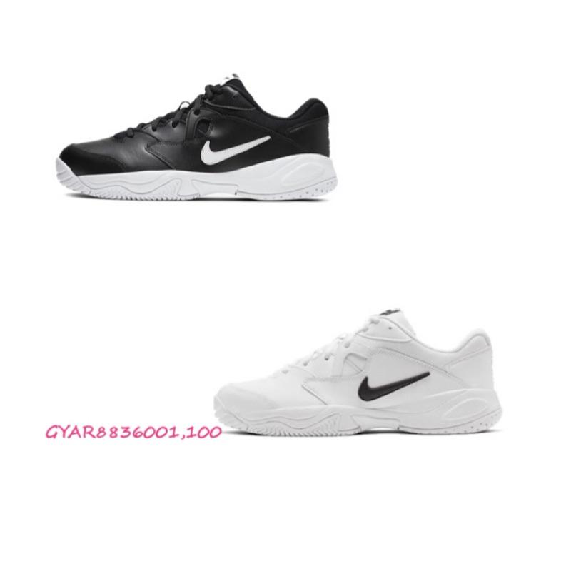 NIKE COURT LITE 2 男款 休閒 運動 網球鞋 老爹鞋 黑 AR8836-001 白 AR8836-100
