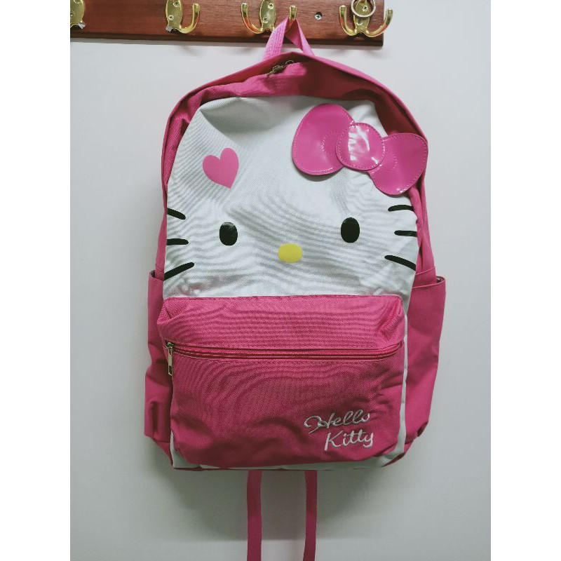 Hello Kitty蝴蝶結筆電背包