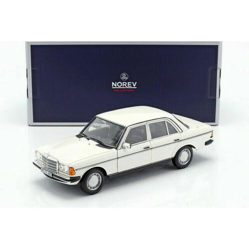 【名車館】Norev Mercedes-Benz 200 E CLASS W123 1982 White 1/18