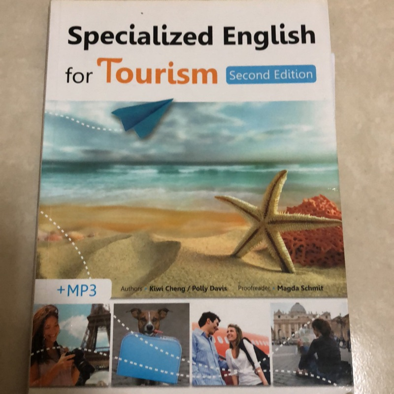 Specialized English for tourism