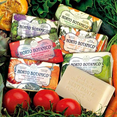 Nesti Dante 那是堤義大利手工皂 天然纖蔬系列 番茄/胡蘿蔔/小黃瓜/萵苣/南瓜/朝鮮薊皂 250g