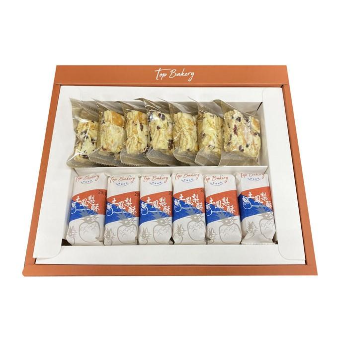唐璞烘焙典藏禮盒(土鳳梨酥x6、雪Q餅x7)