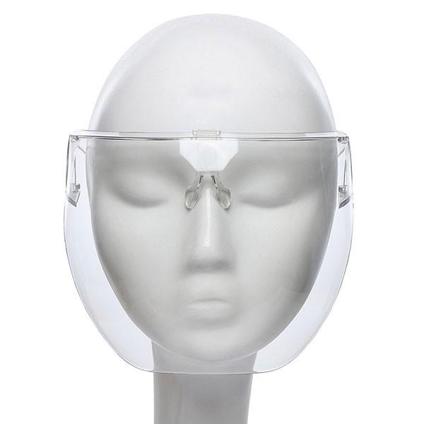 NXS 專業防疫 透明面罩 防霧 防飛沫 防護 病毒 遮罩 透明 擋風 騎車 護目鏡 眼鏡 口罩 防疫面罩 成人 兒童