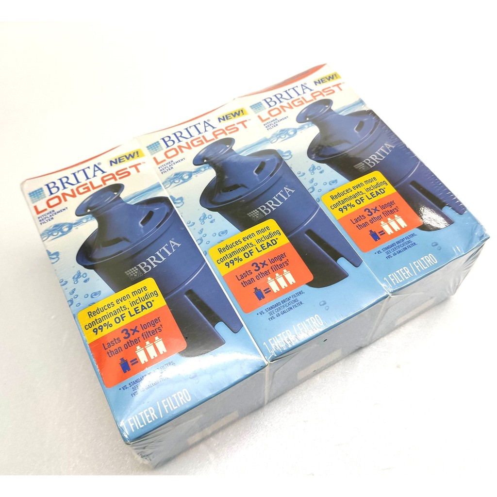 Brita 6個月長效型濾芯 2入裝 Longlast Replacement Water Filter for Pit