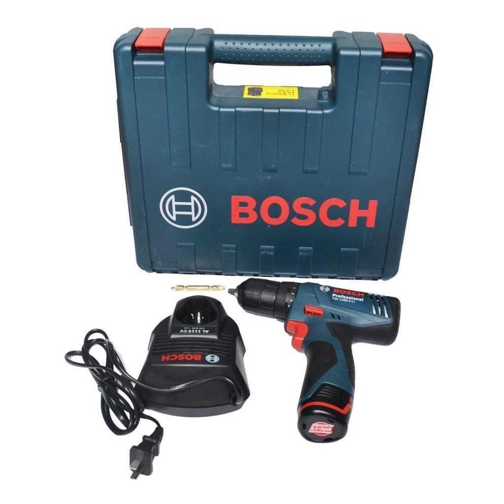 批發全新 博世 BOSCH 10.8V 鋰電充電起子機電動起子機充電鑽起子機TSR1080-2-LI鋰電