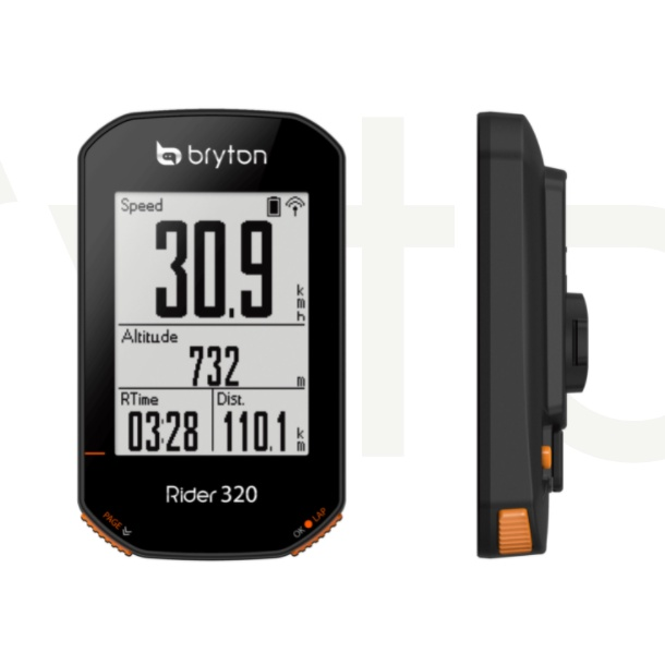 巡揚單車 -【BRYTON】打到骨折 Rider 320E/T 自行車碼錶|支援訓練台|再加踏頰&速度&心跳感測器