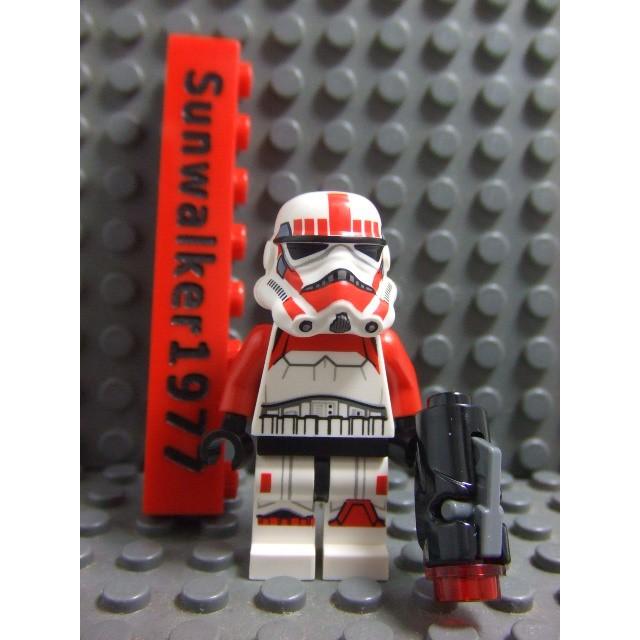 【積木2010】Lego樂高-全新 星際大戰系列 震擊風暴兵(含武器)(75134)