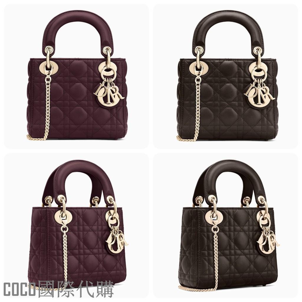 🉑️🉑️DIOR 小羊皮 Lady Dior Mini Bag 金鏈帶