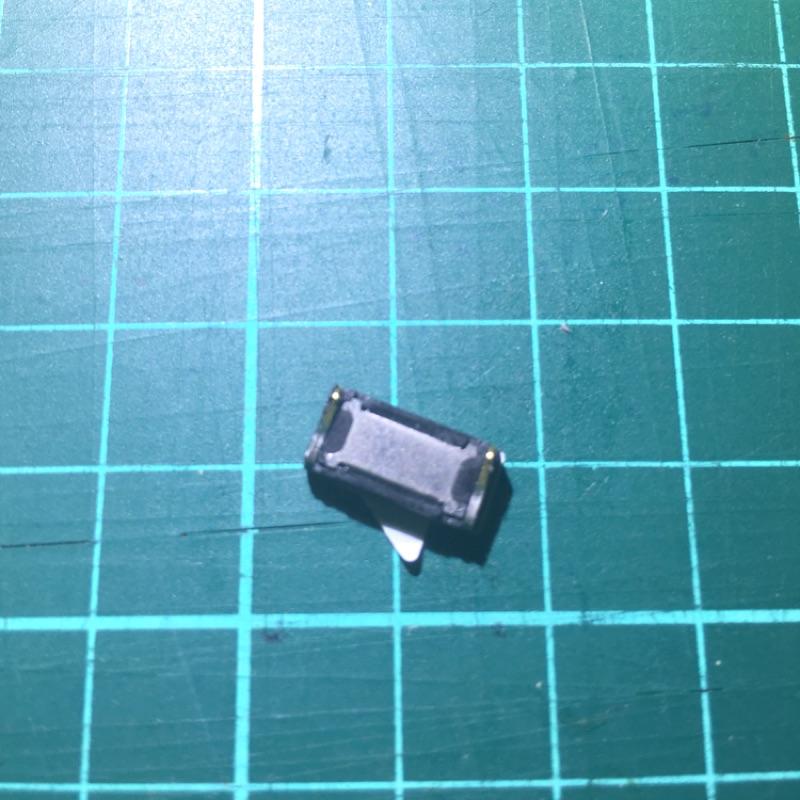 紅米 Note 4x 原廠 上方 聽筒 收音器 收話器 零件 聽不到對方聲音