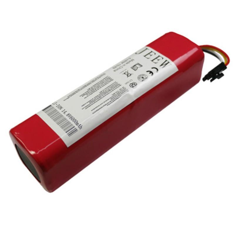 適用於 小米一代二代石頭小瓦米家掃地機器人鋰電池 14.8V 6000MAH