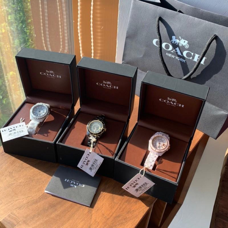 Coach 陶瓷錶帶手錶