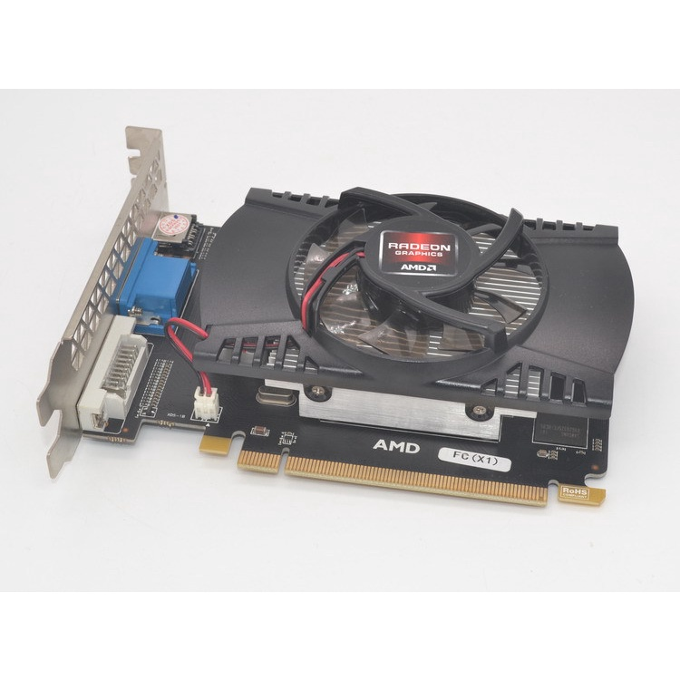 全新HD 7670 顯4GB DDR5 獨立顯卡 海外熱賣款