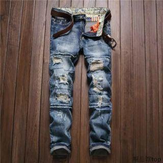 歐美 牛仔 破壞褲 嘻哈 饒舌 HIP HOP MJF 尺寸28腰~38腰 彰化縣