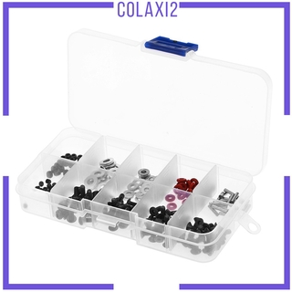 [COLAXI2] 200x Universal Metal RC Car Screws Kit for 1/ 10 D4