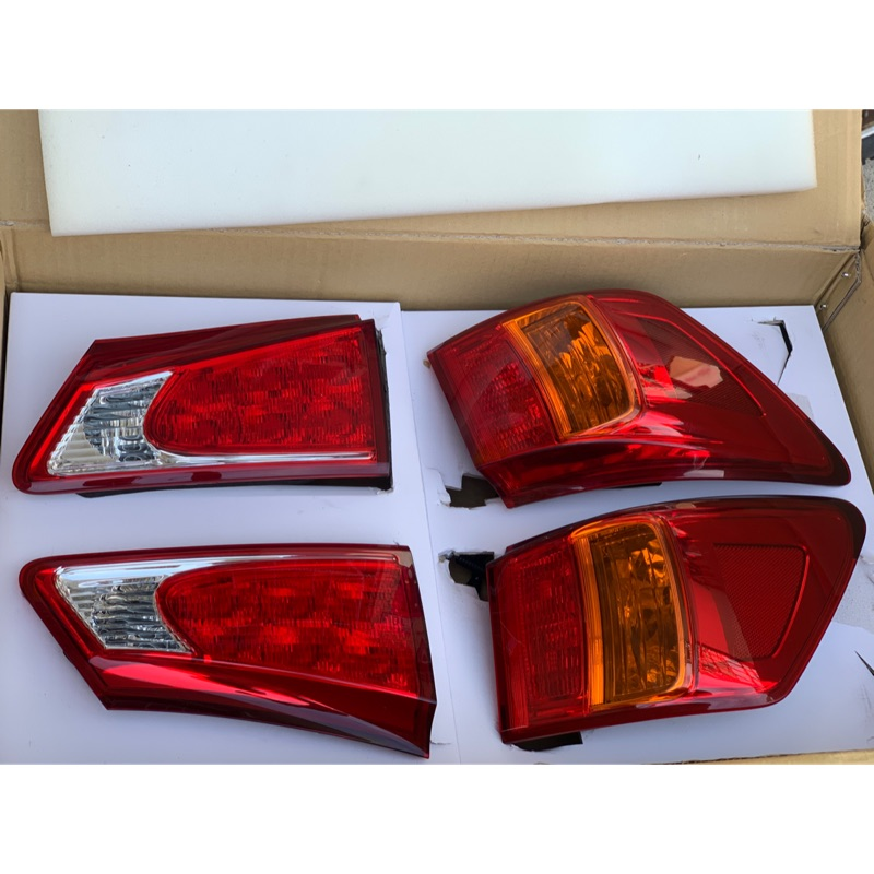 Lexus is250 中期日規LED後尾燈組
