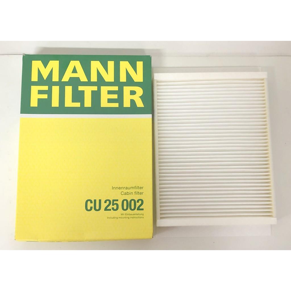 MANN 德國 空調濾網 CU25002 BENZ W205 W213 X253 GLC C257 冷氣芯 室外