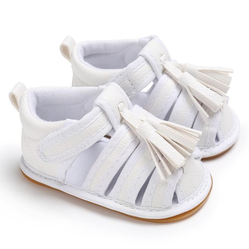 童鞋嬰幼童寶寶鞋春秋夏季男女寶寶0-1歲包腳涼鞋膠底防滑嬰兒學步鞋嬰兒涼鞋 嬰兒鞋 學步鞋 童鞋 寶寶鞋