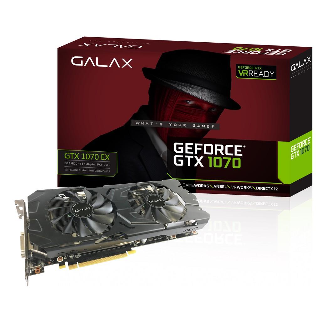 GALAX GeForce® GTX 1070 EX Black Edition(免運費)