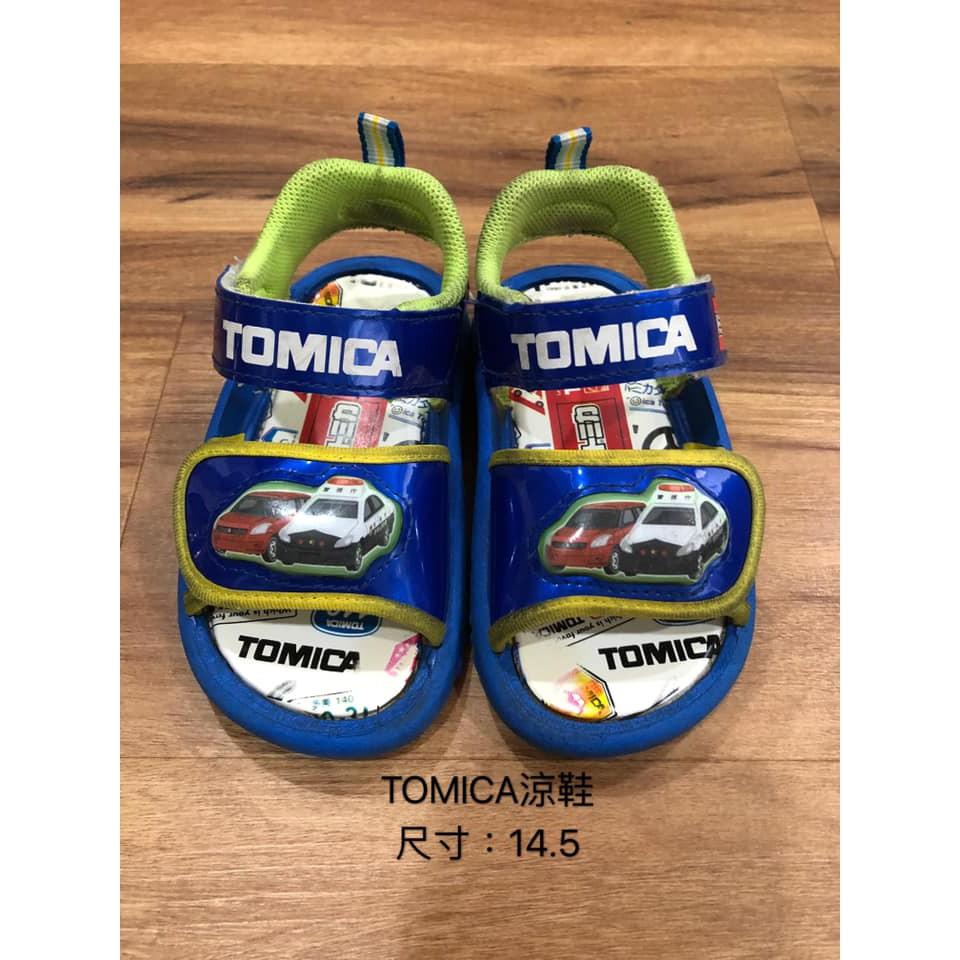 TOMICA發光涼鞋童鞋、寶寶鞋
