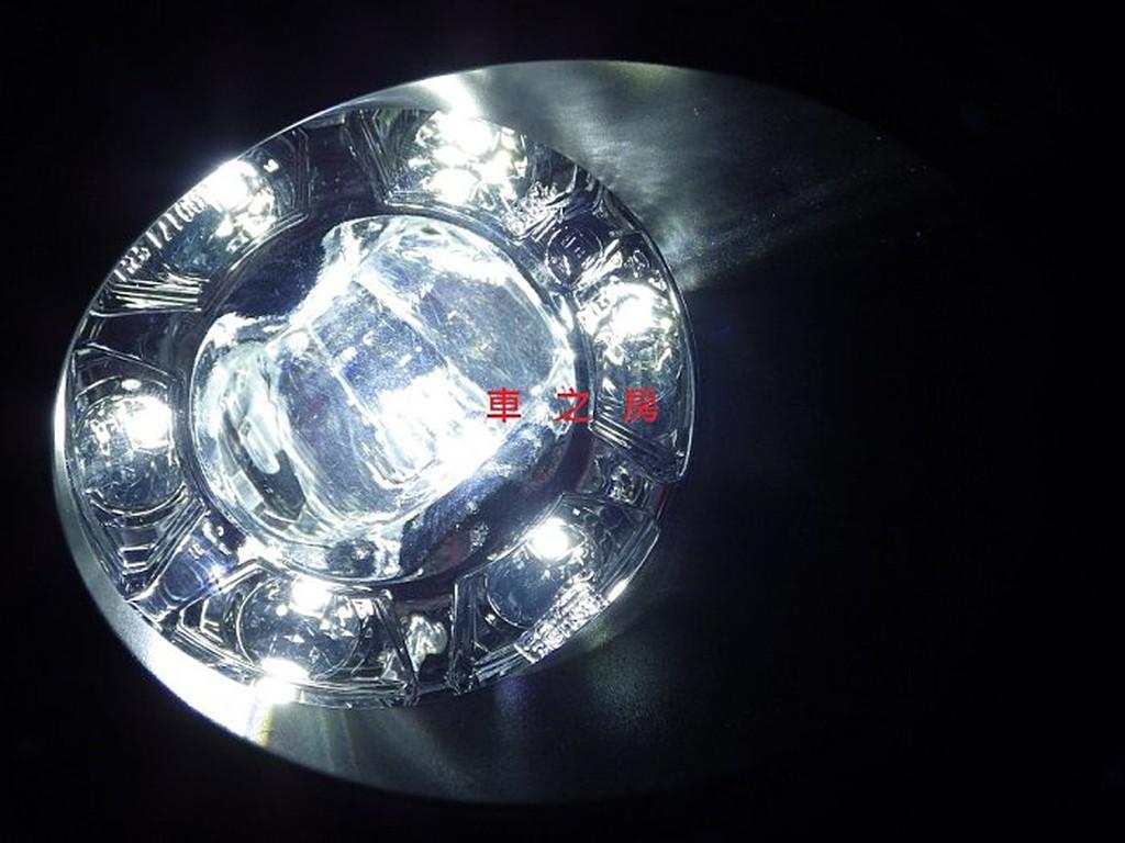(車之房) LED光圈日型燈 凸透鏡LED霧燈 YARIS ALTIS CAMRY HYBRID PREVIA WISH