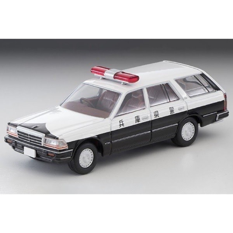 全新 日版 Tomytec TLV LV-N215a 日產 Gloria 兵庫縣 警車