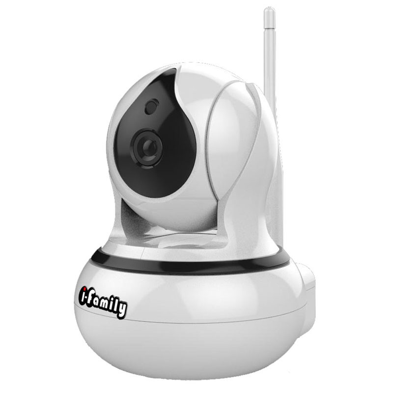 【宇晨I-Family】T105 三百萬畫素室內標準鏡頭AI自動偵測追蹤網路監視器-IPCAM/錄影攝影機 廠商直送