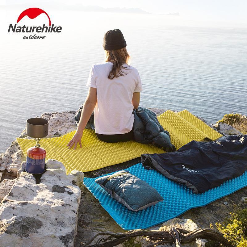 Naturehike挪客加厚折疊蛋巢防潮墊戶外露營帳篷睡墊野外隔潮地墊象先生百貨店