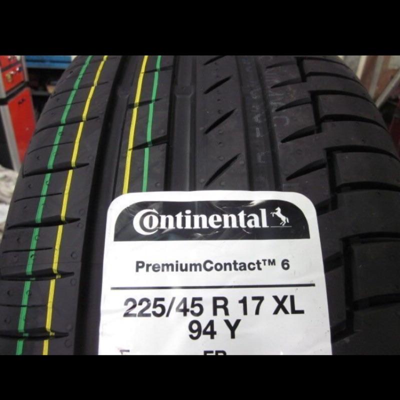 超便宜輪胎PC6/225/45/17德國馬牌輪胎/完工/免費調胎/米其林/專業施工/輪胎保固