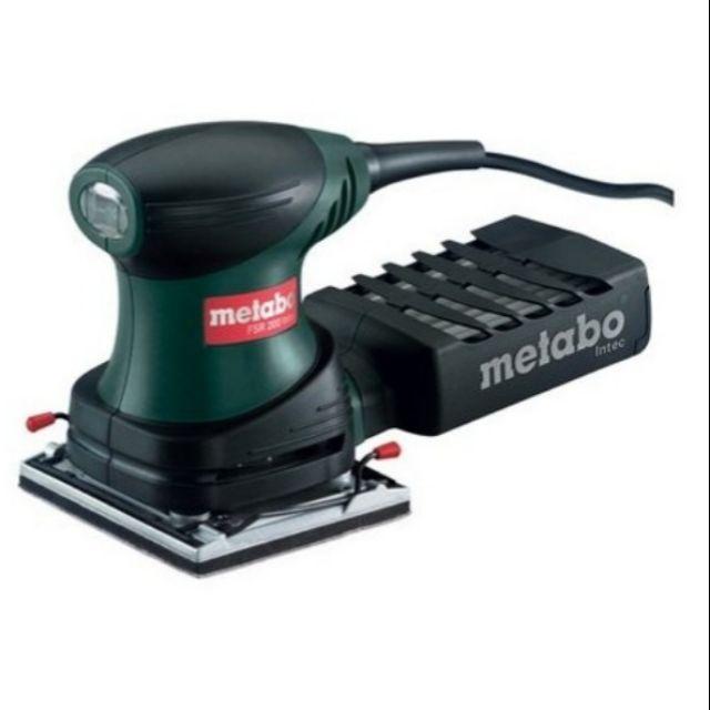 [CK五金小舖] Metabo 美達寶 FSR 200 砂紙機 研磨機 磨砂機