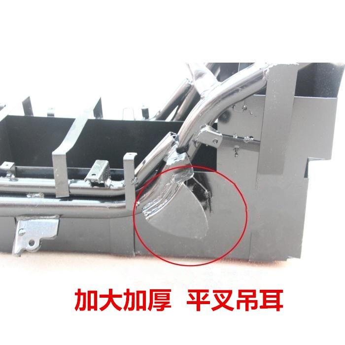 『台灣現貨』車架改裝加厚加寬吊耳 焊接於平叉支架  電動車  戰狼 X戰警 獨角獸 改裝 零件