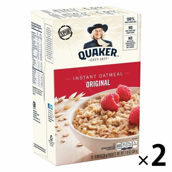 桂格QUAKER 即食燕麥 經典原味 2入裝 P695488