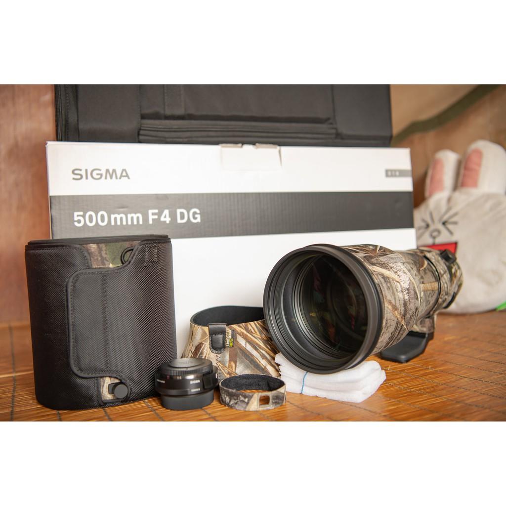 SIGMA 500mm F4 DG OS HSM Sport for Nikon(近全新含TC-1401 1.4X)