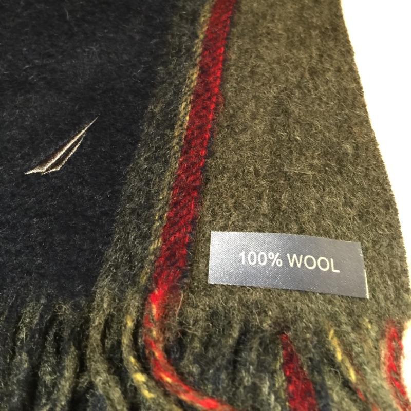 NAUTICA經典羊毛圍巾