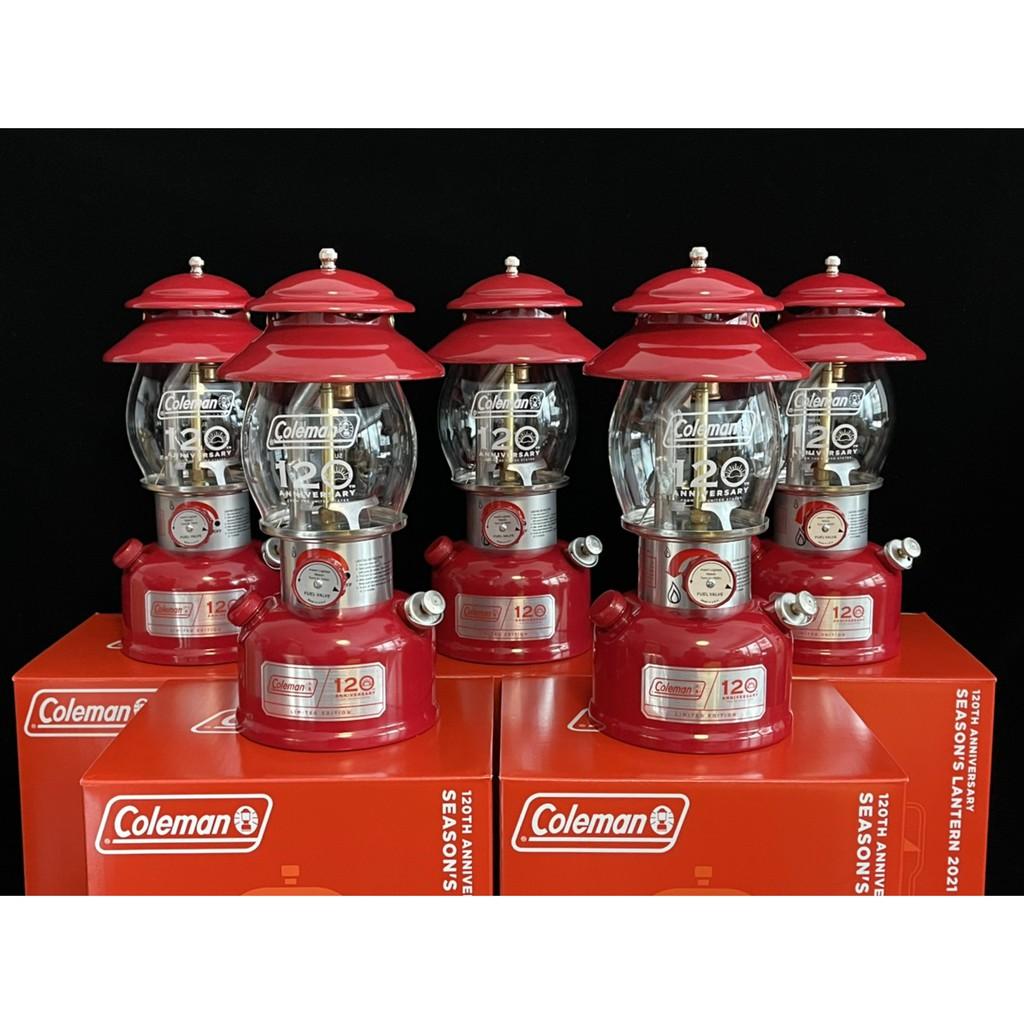 Coleman 120週年紀念燈 汽化燈 玻璃 120th 120週年 200B 煤油燈 盧美爾