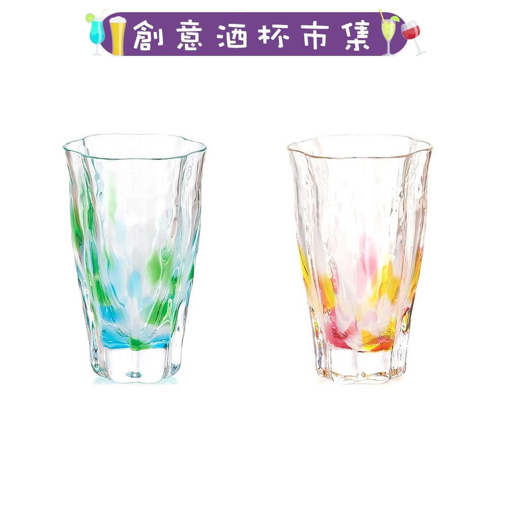 【日本津輕】手作清酒杯(含木盒)-共2色《拾光玻璃》 酒杯 玻璃杯 酒器