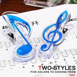 【三木樂器】樂譜夾 造型譜夾 造型樂譜夾 譜夾 高音譜記號樂譜夾 八分音符樂譜夾 夾子 紙張夾子 藍色 高雄市