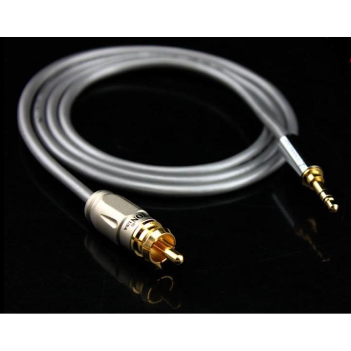 川木08  小米盒子SPDIF線 3.5mm數位音訊轉同軸線 3.5轉RCA蓮花數位線