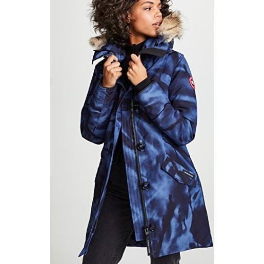 保證正品 Canada Goose 加拿大鵝 Rossclair Parka 頂級羽絨外套 大衣 迷彩 藍