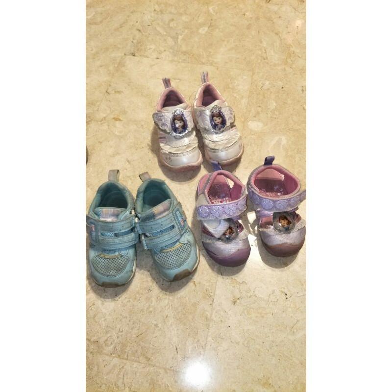 二手 moonstar女童童鞋